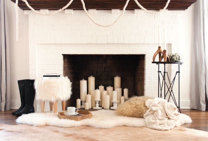 Fireplace DIY - Room For Tuesday