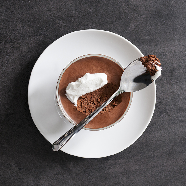 Simple Chocolate Mousse | Room for Tuesday