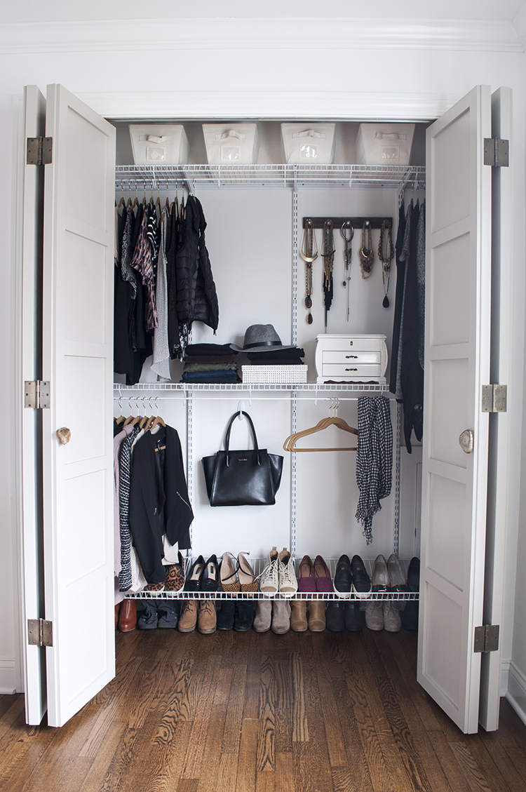 Perfect Maximizing Closet Space | Room For Tuesday