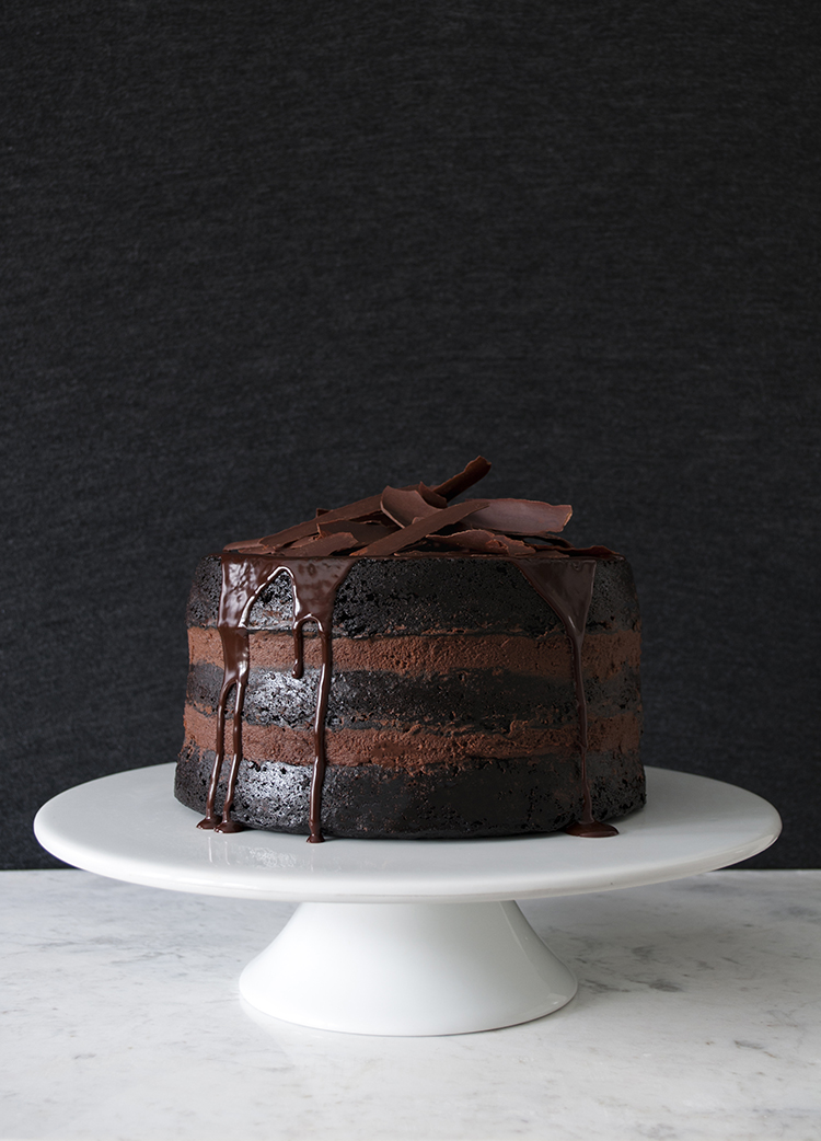 Dark Chocolate Cake Recipe