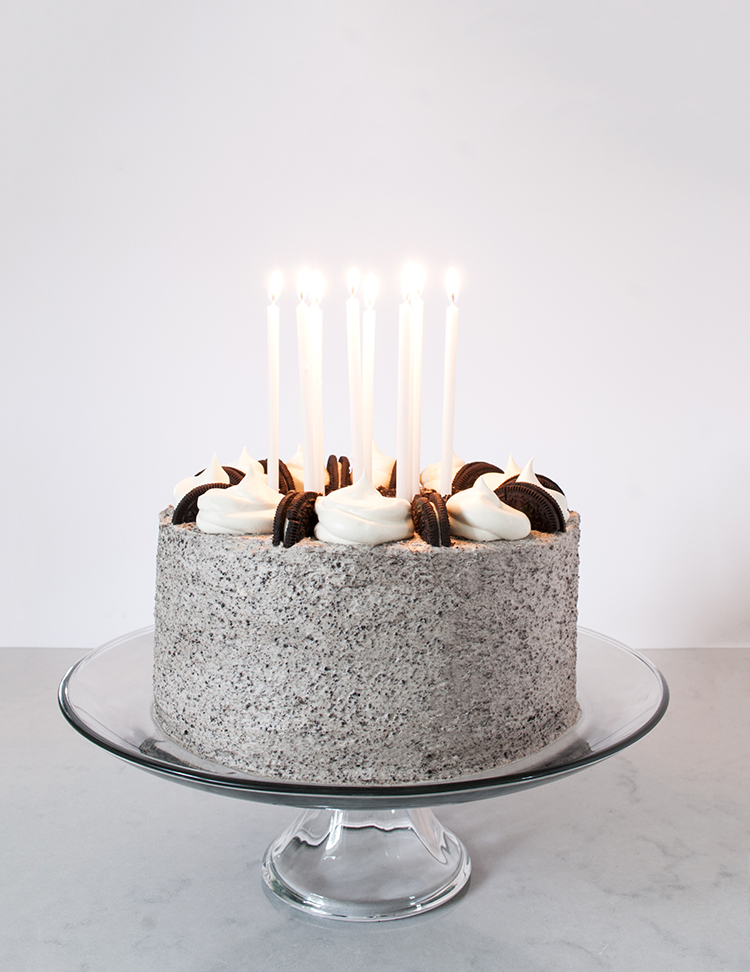 Cookies and Cream Birthday Cake