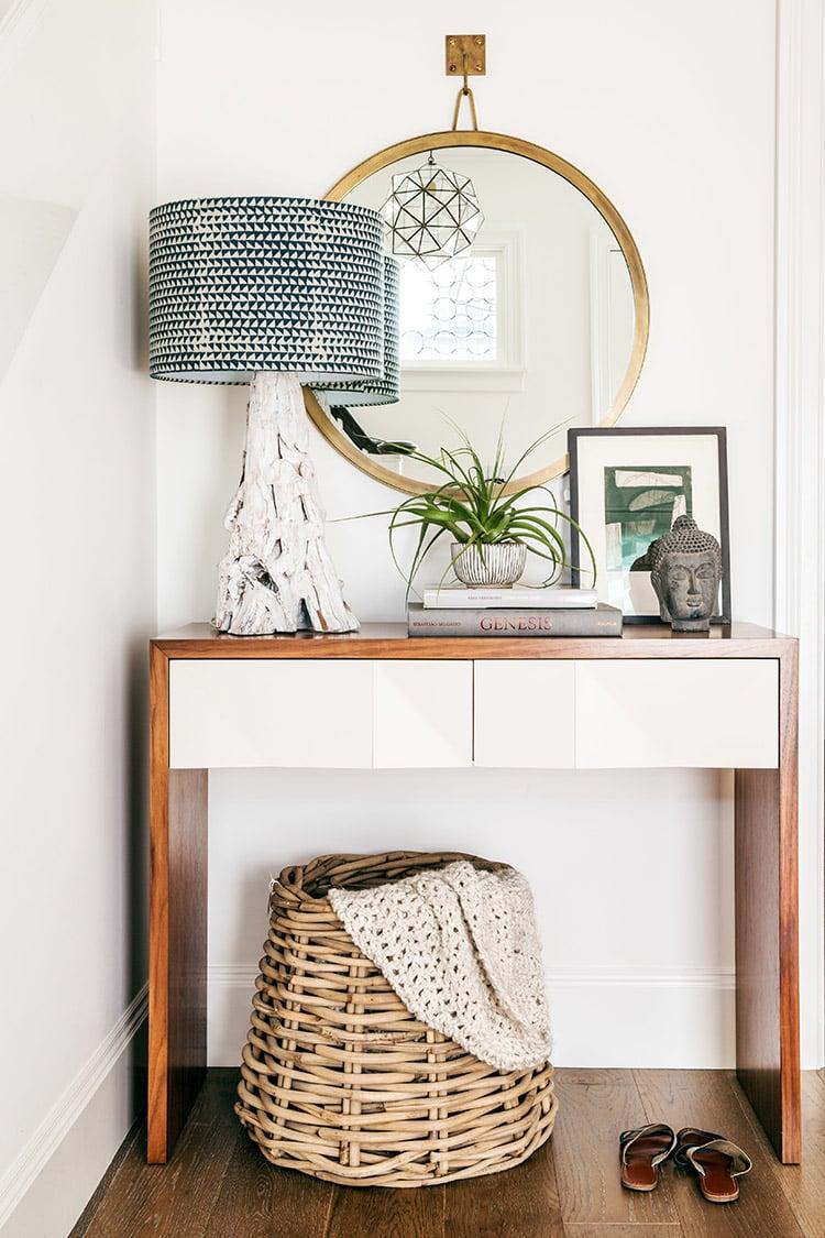 Foyer Table Craigslist : Neutral baskets for any decor style room tuesday