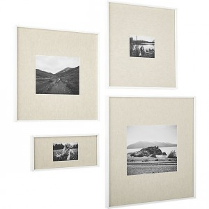 gallery-white-picture-frames-with-linen-mats