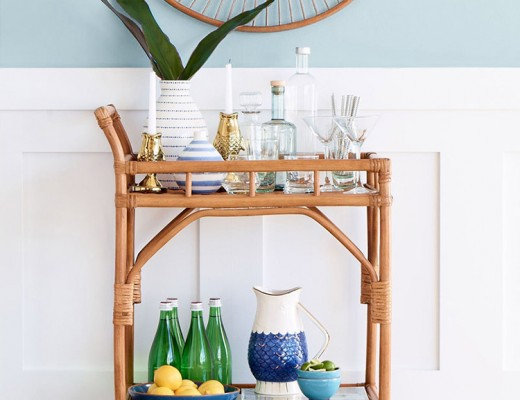 Rattan and Woven Home Decor