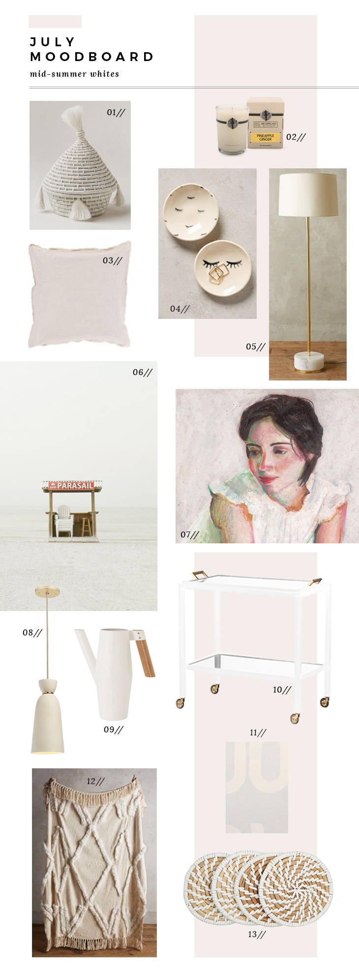Room for Tuesday July Moodboard