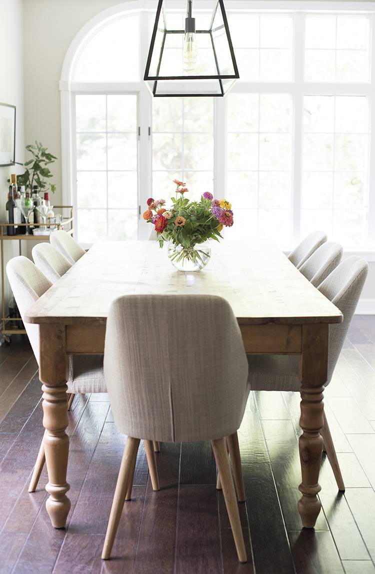 dining room images photos | A Bright Open Concept Dining Room - Room For Tuesday