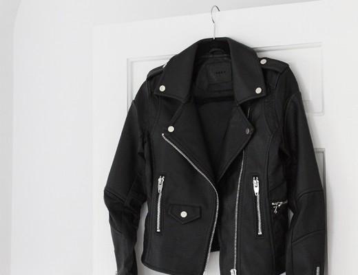 Chic Leather Moto Jacket