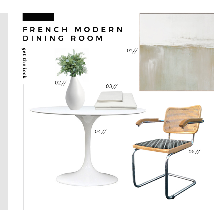 Get The Look : Modern French Apartment