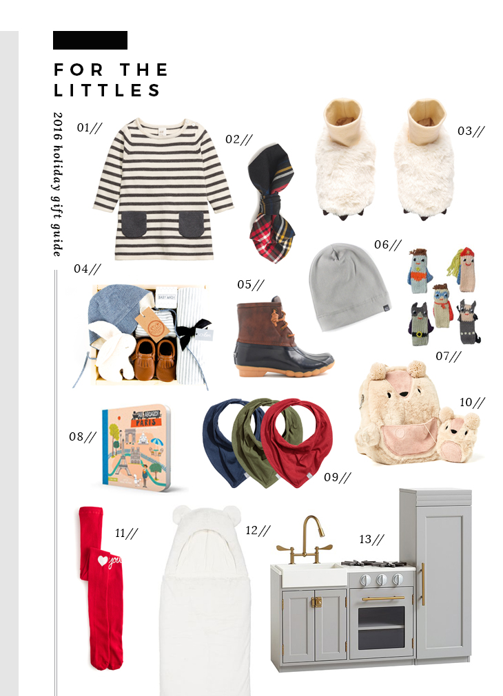 gift guide for the littles
