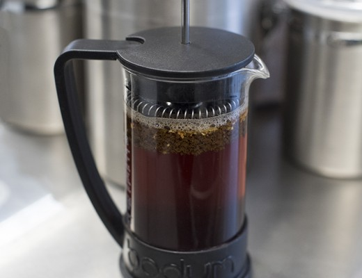 chai-in-french-press