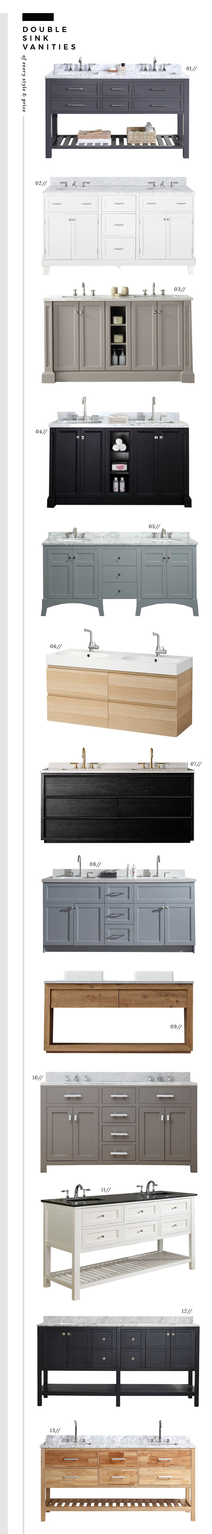 Ready made bathroom vanities room for tuesday blog for Premade bathroom vanities