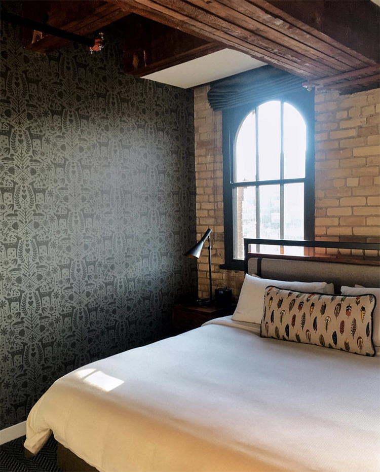Hewing Hotel Bedroom
