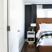 Doorstop in bedroom