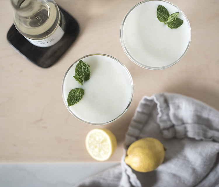 Mint Lemon Cocktail