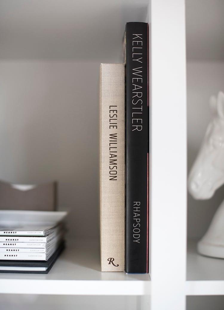 Styled Book Shelf
