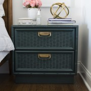 Teal-and-Brass-Bamboo-Nightstand