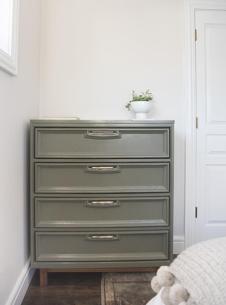 Vintage Tallboy Dresser Update