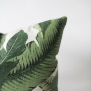 palm printed pillow
