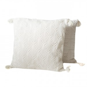 woven macrame pillows