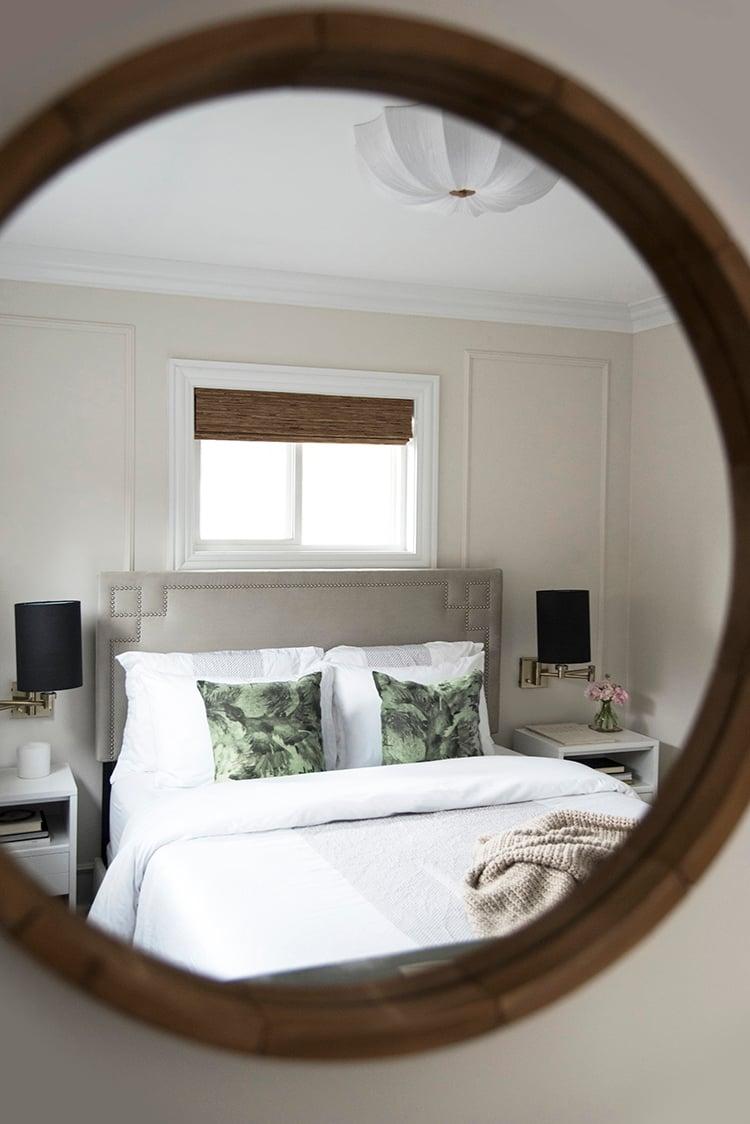 Bedroom In Mirror