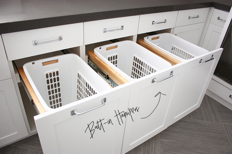 Soft Close Laundry Hampers