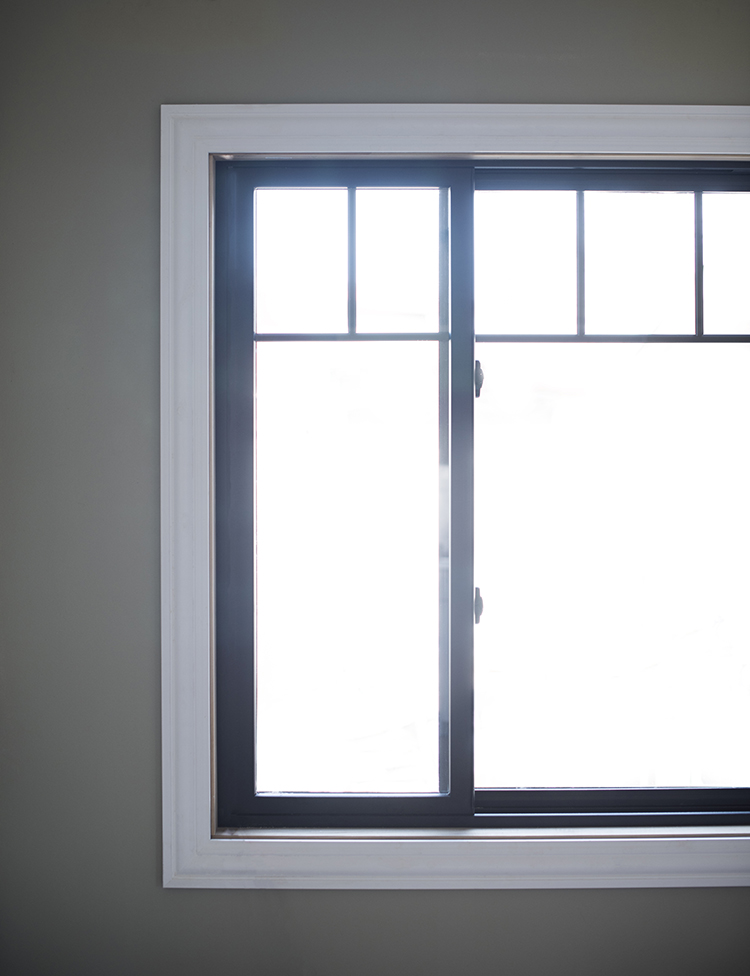 Windows with Black Frames