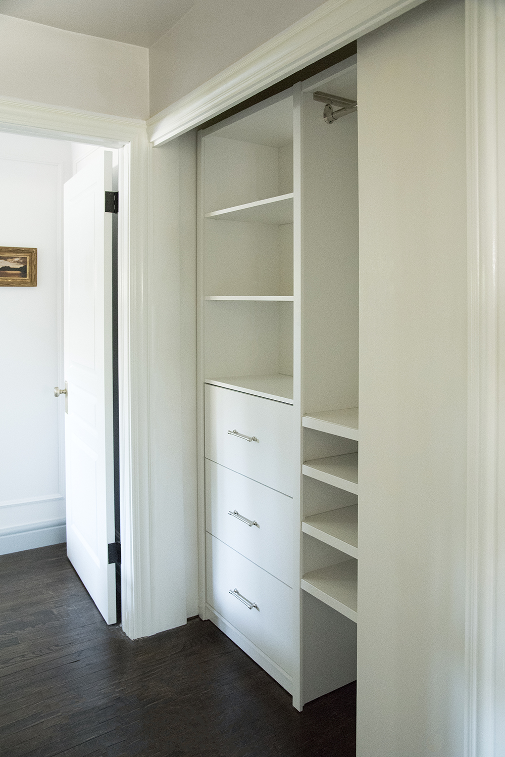 The Final Hall Closet Reveal - Room for Tuesday Blog