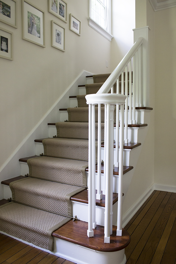 diy stair runner