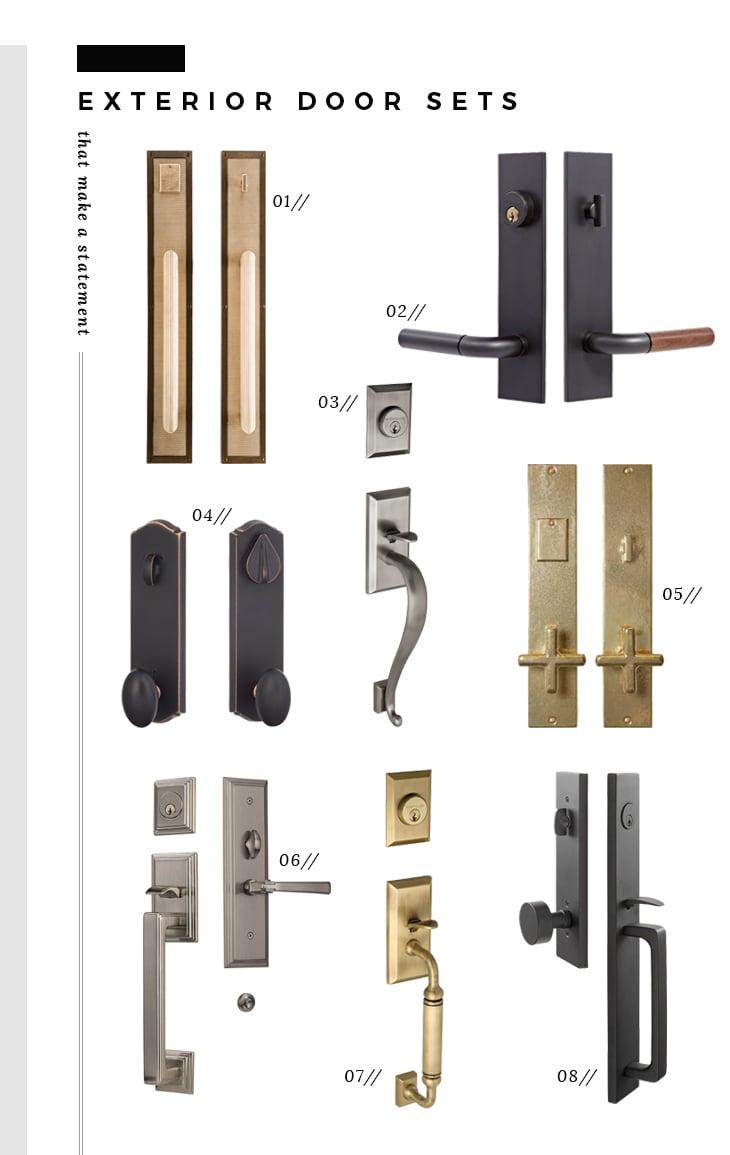 Exterior Door Knobs Close Up Of Old Door Knob And Lock On Building Exterior By P Exterior Door