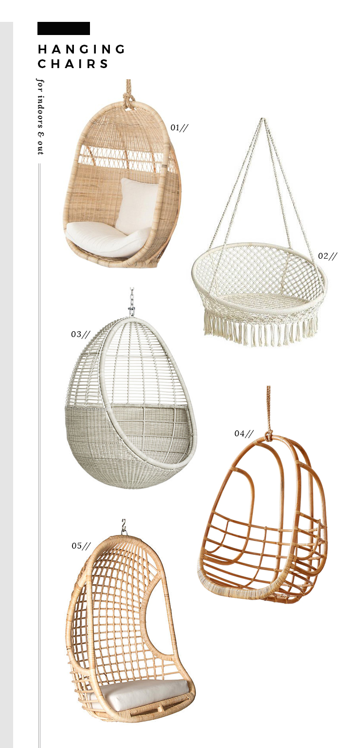 Hanging Chairs Roundup