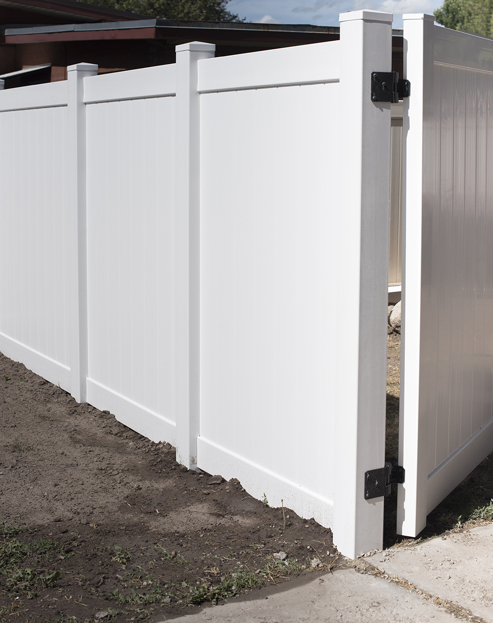 How to install a vinyl privacy fence room for tuesday