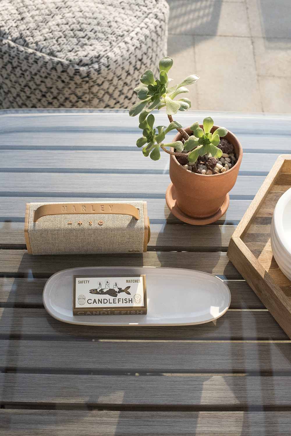Outdoor Coffee Table Styling