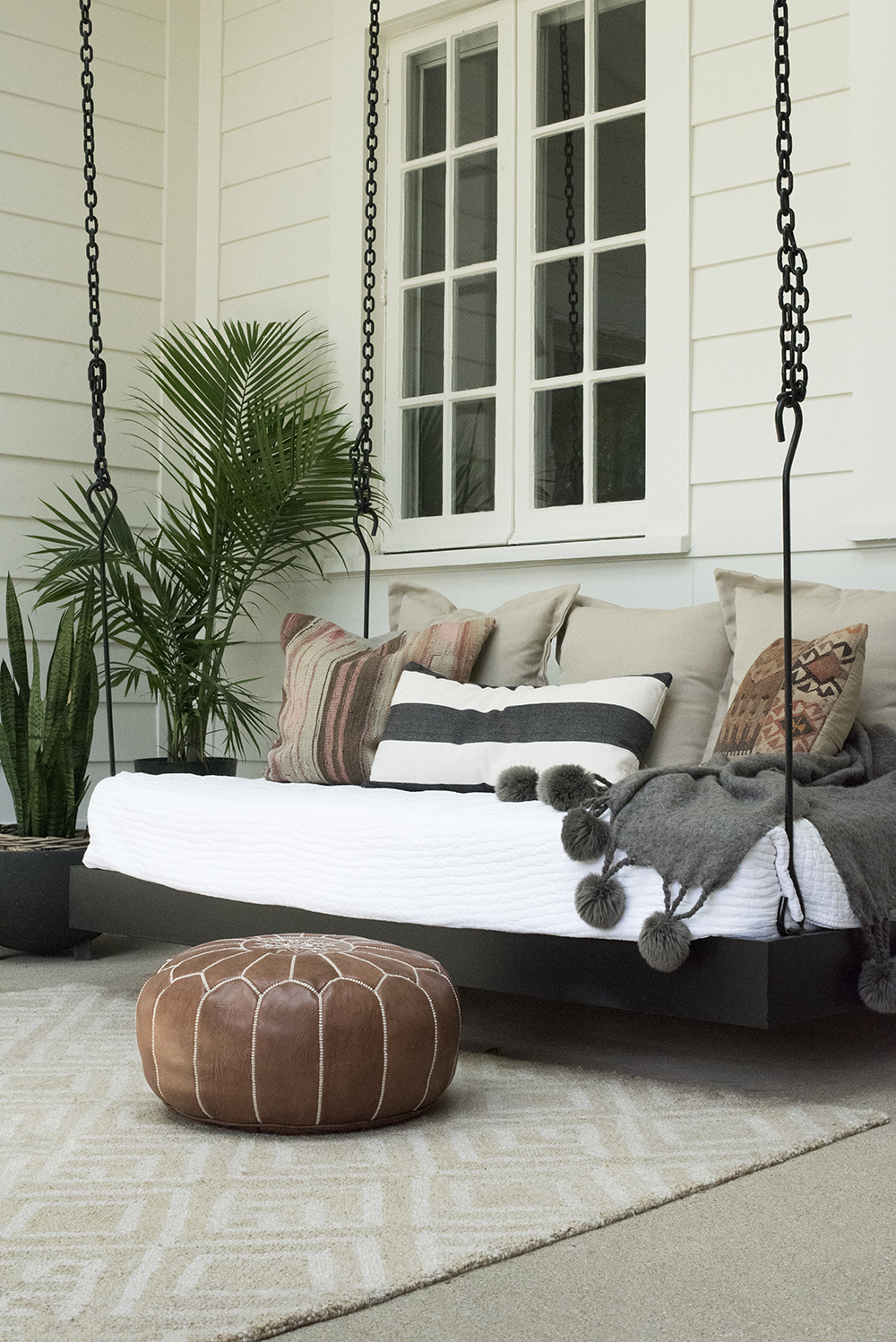 Outdoor Swing Bed