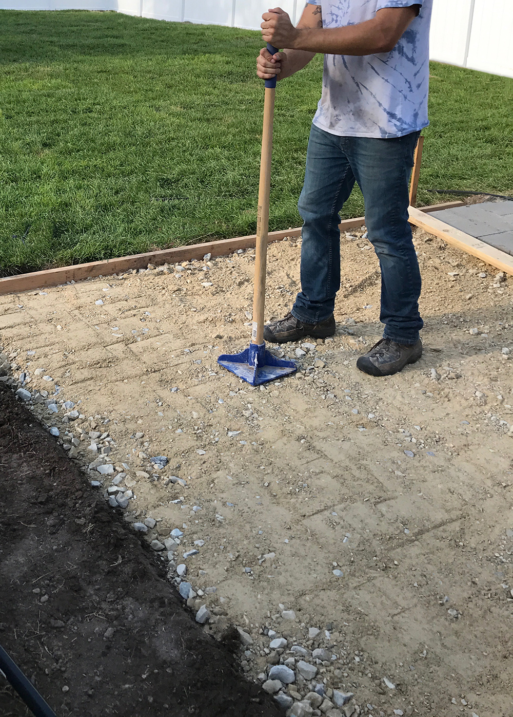 Paver Patio Installation Guide - Room For Tuesday
