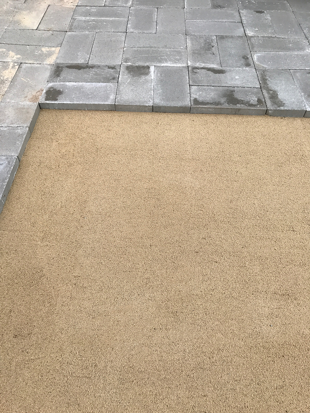Paver Patio Instructions