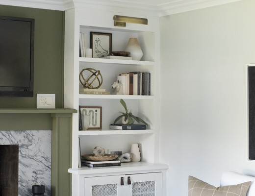 Living Room Color Palette