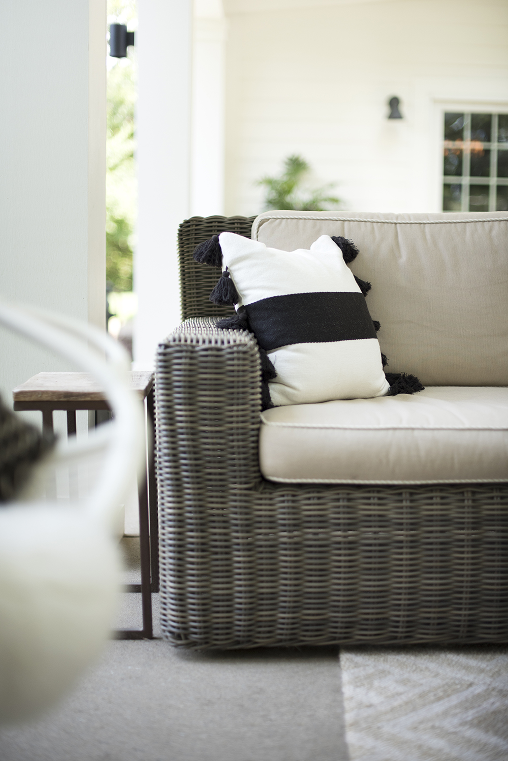 Neutral Outdoor Throw Pillows