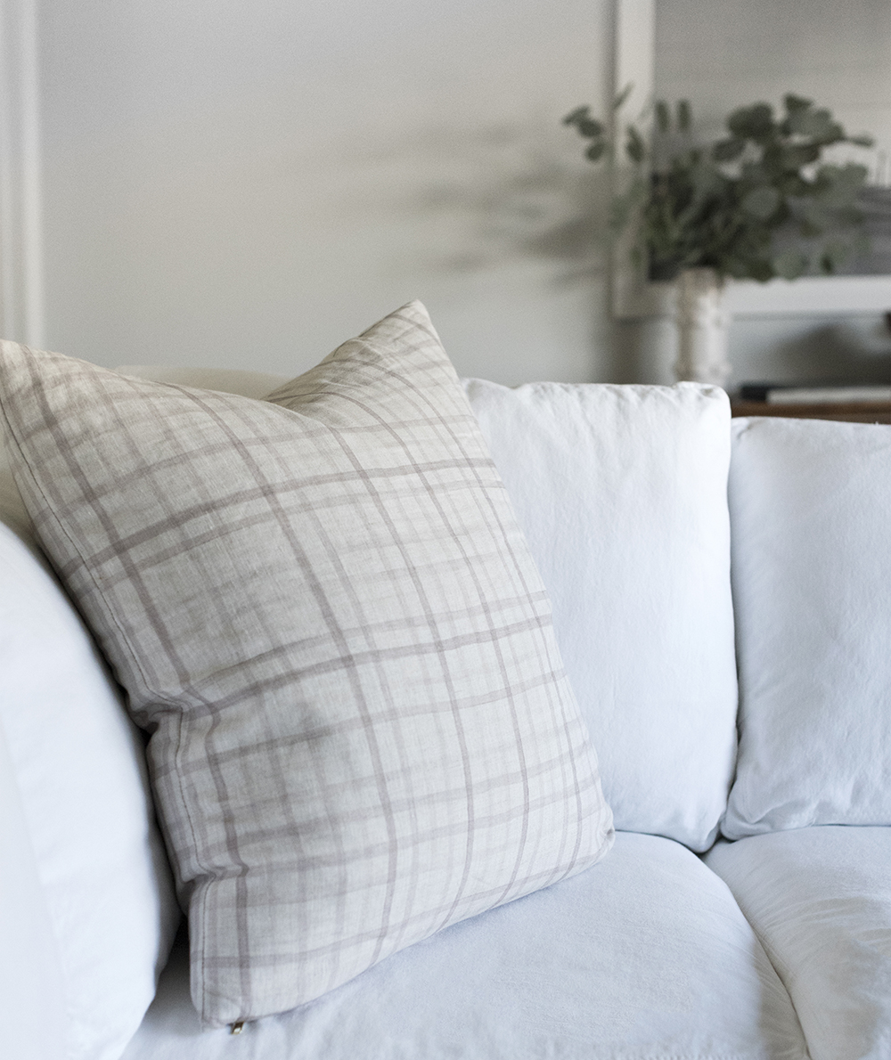 Pillow on Sofa