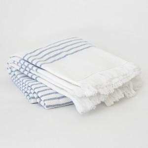 Blue Turkish Towels