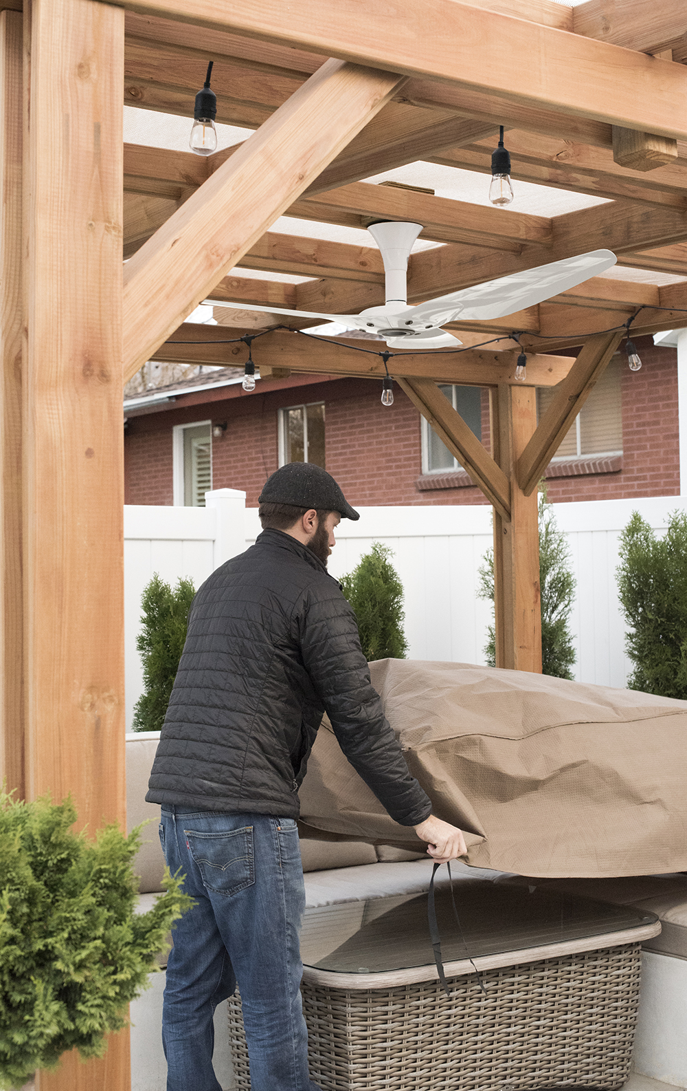 Winterizing the Backyard - roomfortuesday.com