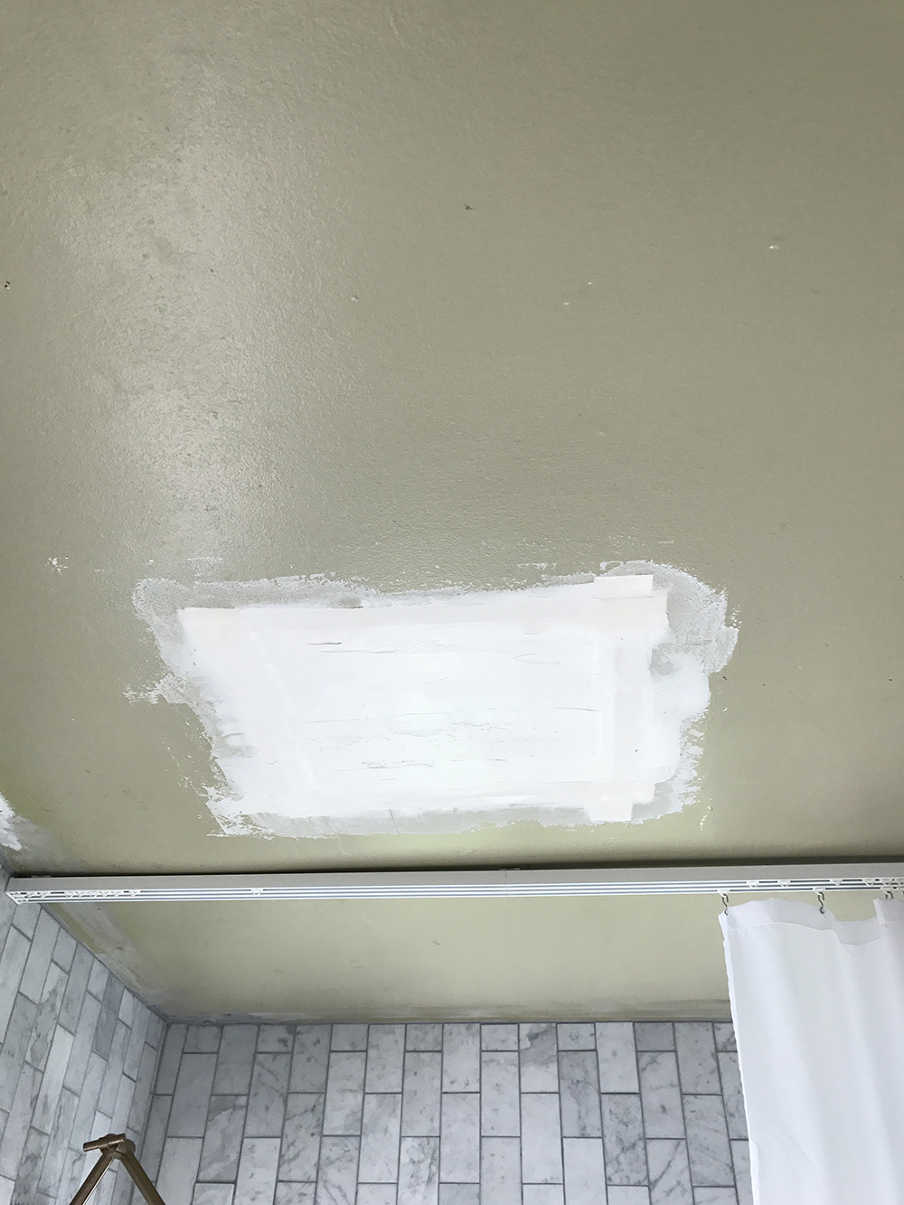 Patching the Ceiling