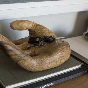 mod hand sculpture