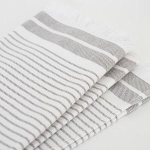 striped turkish towels pair