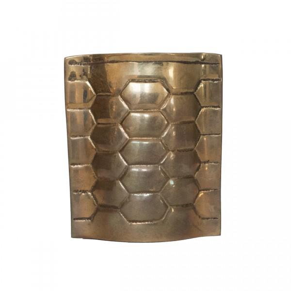 vintage brass bud vase