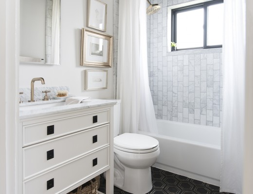 The Bathroom : One Room Challenge – Final Reveal | roomfortuesday.com