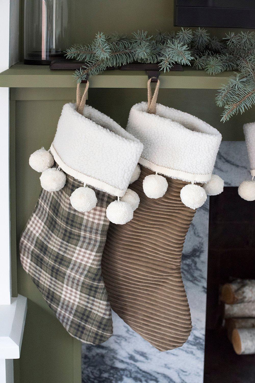 Christmas Stockings Diy.Christmas Stocking Diy For The Holidays Room For Tuesday Blog