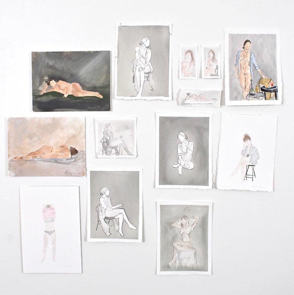Artist Spotlight : Laurie Anne Gonzalez - roomfortuesday.com