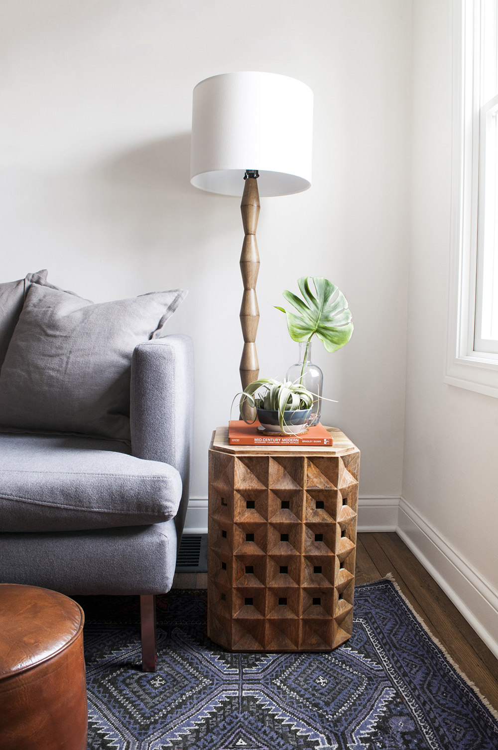 Sculptural and Pedestal Side Tables Roundup - roomfortuesday.com