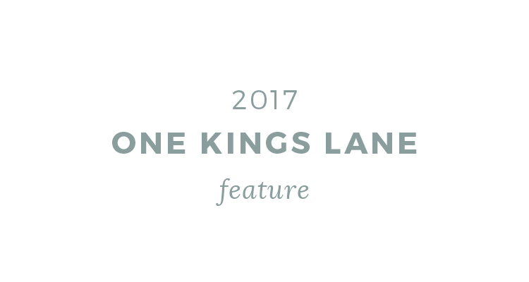 one kings lane press 2017