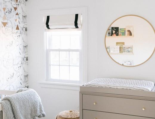 Whimsical Neutral Nursery - roomfortuesday.com
